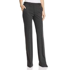 THEORY Demitria 2 K Pinstripe Knit Trouser Pant